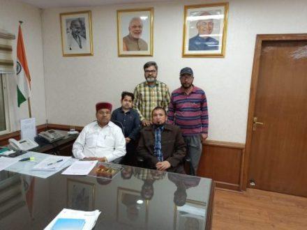 Meeting with Higher Authorities Regarding Our Genuine Demands