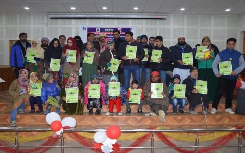 Awards Organized by Handicapped Association Srinagar