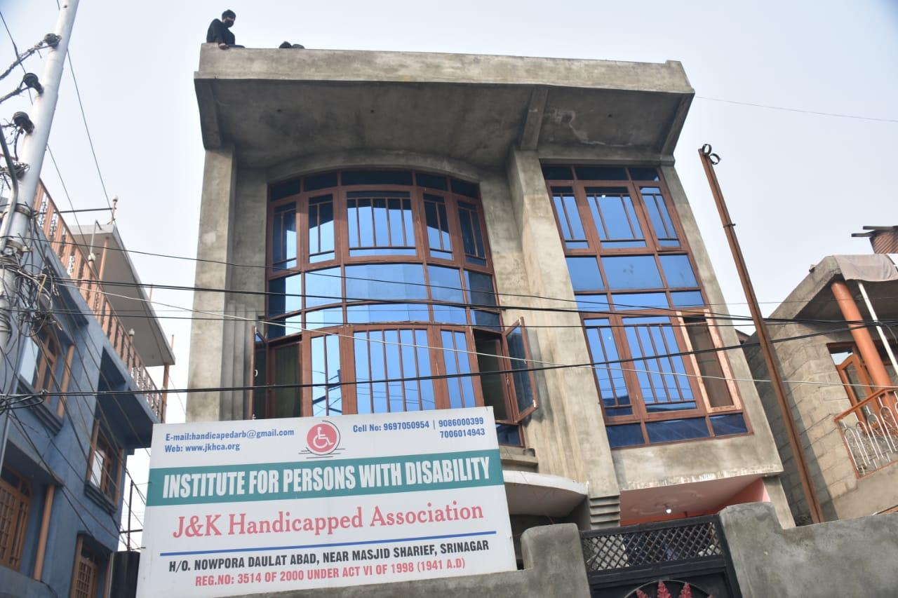 Jammu and kashmir Handicapped Association Srinagar Institute