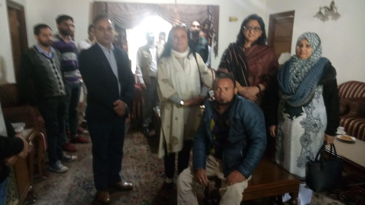 meetings Organized by Handicapped Association Srinagar