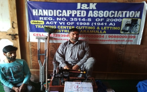 Images by Handicapped Association Srinagar